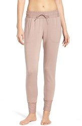 Free People Women's Skinny Sweat Jogger Pants Dusty Mauve