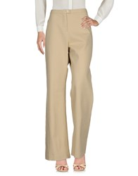 Clips Casual Pants Beige