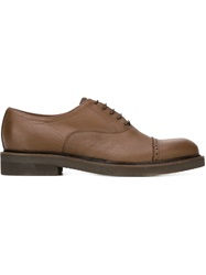Eleventy Classic Quarter Brogues Brown