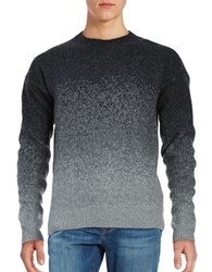 Plac Ombre Wool Blend Sweater Charcoal