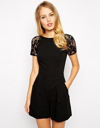 Oasis Playsuit Black