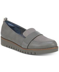 Dr. Scholl's Imagined Platform Loafers Grey