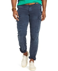 Polo Ralph Lauren Big And Tall Classic Fit Ripstop Cargo Pants Aviator Navy