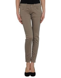 Fornarina Denim Pants Beige