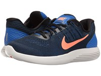 Nike Lunarglide 8 Hyper Cobalt Black Loyal Blue Bright Mango Men's Running Shoes