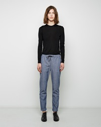 Proenza Schouler Chambray Pull On Pant