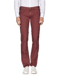 Htc Trousers Casual Trousers Men Maroon