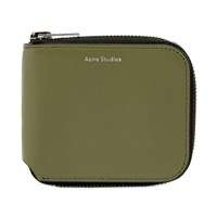Acne Studios Kei S Wallet Green
