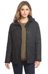 Women's Barbour 'Millfire' Waxed Cotton Jacket