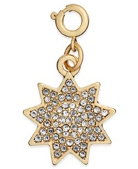 Inc International Concepts Gold Tone Crystal Sun Charm Only At Macy's