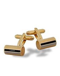 Forzieri Pitti Unconventional Gold Plated Cuff Links