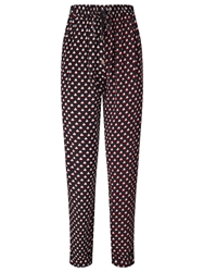Alice By Temperley Somerset By Alice Temperley Relax Boat Print Trousers Black Cream