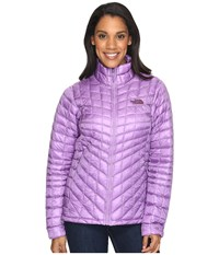The North Face Thermoball Full Zip Jacket Bellflower Purple Women's Coat