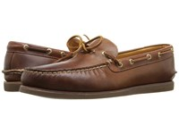 Sperry Gold A O 1 Eye Wedge Tan Gum Men's Moccasin Shoes