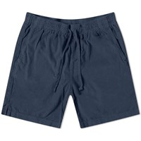 Save Khaki Wale Corduroy Easy Short Blue