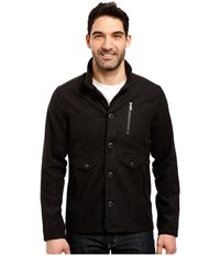 Nau Transporter Jacket Caviar Heather Men's Coat Black