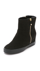 Dkny Clarissa Wedge Booties Black