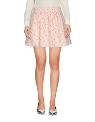Maison Scotch Mini Skirts Skin Color