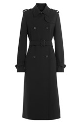 Mcq By Alexander Mcqueen Trench Coat With Wool Black