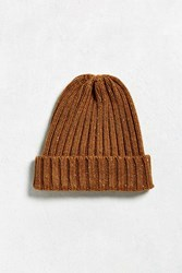 Urban Outfitters Uo Donegal Beanie Brown