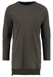 Brooklyn's Own By Rocawear Long Sleeved Top Forest Night Dark Green