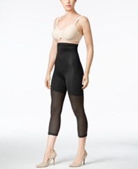 Spanx Super Higher Power Footless Capri Black