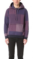 Remi Relief 18Gg Patchwork Hoodie Navy
