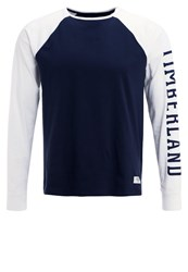 Timberland Long Sleeved Top Dunkelblau Dark Blue