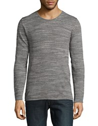 Strellson Eston Cotton Sweater Pastel Grey