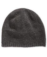 Ryan Seacrest Distinction Men's Donegal Skull Beanie Only At Macy's Charcoal
