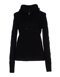 Blauer Turtlenecks Black