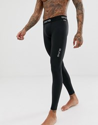 Skins Dnamic Force Thermal Compression Tights In Black