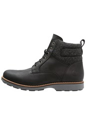 Lumberjack Hill Laceup Boots Black