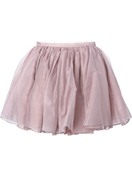 Olympia Le Tan Tutu Skirt Pink And Purple
