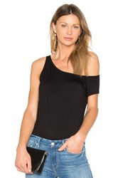 Feel The Piece Bonaire Ribbed Top Black