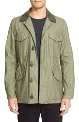 Rag And Bone Men's 'Bennett' Cotton Field Jacket Army Green