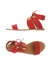 Cynthia Vincent Sandals Red