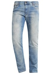 Petrol Industries Slim Fit Jeans Spring Indigo Light Blue Denim