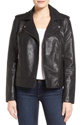 Halogenr Women's Halogen Faux Leather Moto Jacket