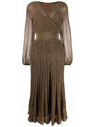 Missoni Pleated Wrap Dress 60