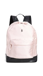 Opening Ceremony Satin Classic Backpack Pink Salt Rose