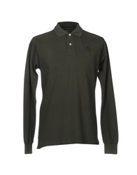 Henri Lloyd Polo Shirts Military Green