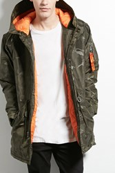 Forever 21 Victorious Hooded Camo Jacket
