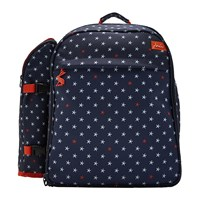 Joules Four Person Picnic Rucksack Star Fish
