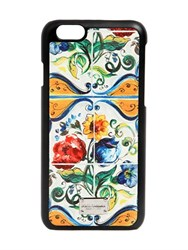Dolce And Gabbana Maiolica Printed Iphone 6 Case