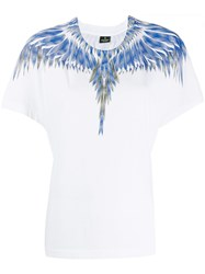 Marcelo Burlon County Of Milan Squared Wings T Shirt White