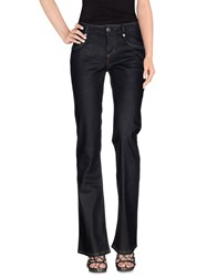 Gaudi' Denim Denim Trousers Women Dark Blue