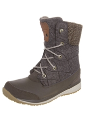 Salomon Hime Laceup Boots Abs Brown Shrew Sand Dark Brown