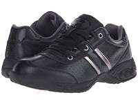 Therafit Euro Oxford Low Black Women's Lace Up Casual Shoes