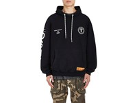 Heron Preston Men's Dsny Cotton French Terry Hoodie Black